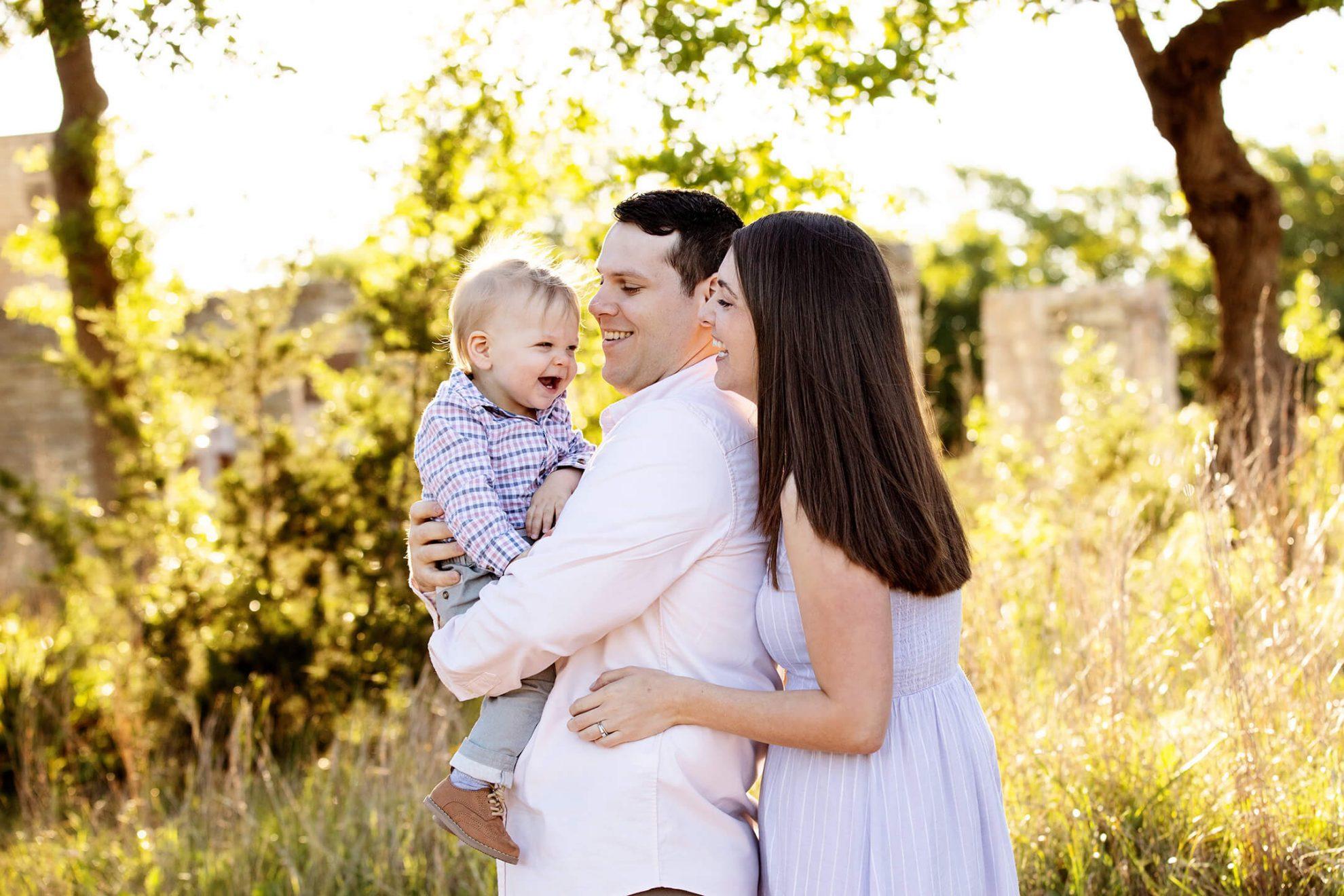 Daniel, Emily, and Carson